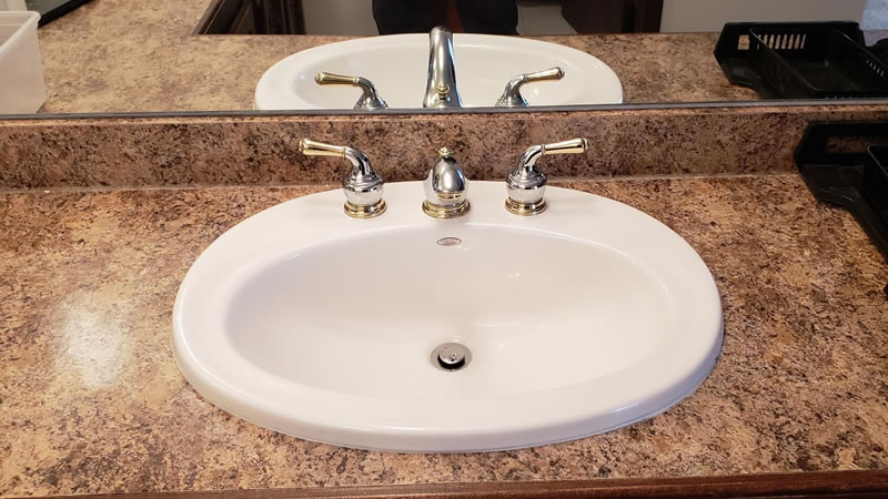 Faucet Repair and Replacement For Kitchens, Bathrooms, and Laundry Rooms.