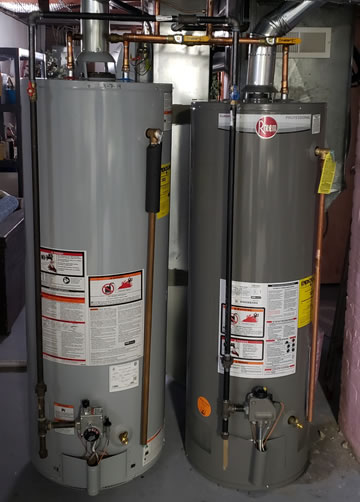 Water Heater Replacement and Repairs